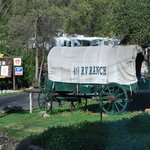 Entrance to the 49er RV Ranch