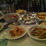 fish meze (first shot only...)