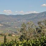Vista sul Pratomagno