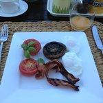Bacon N Eggs poached! Yum!