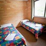 2nd bedroom in 3 bedroom chalet