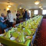 Flot bordækning til 100 års fødselsdag