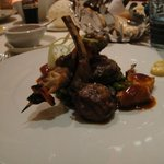 Trio of lamb, beef and chicken