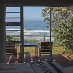 Blick aufs Meer vom Zimmer