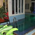Small private pool