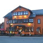 Im Ort Oberhof gibt es wunderschöne Kneipen und Restaurants