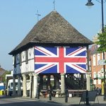 Royal Wootton Bassett Old Town Hall during the Jubilee