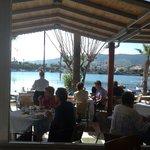 Breakfast on the marina