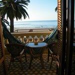 La habitación con vistas al mar.