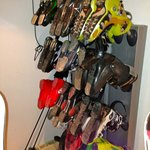 Boot drying rack-- fabulous!  Do not book a ski chalet without one!