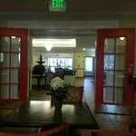 lobby from breakfast area.