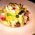 The Greek feta Salad - nicely done