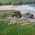 A favourite of the locals Porth Joke Beach