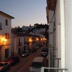 Vista desde el balcón Habitación Oro