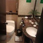 Bathroom on executive floor