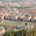 Uitzicht over Lyon
