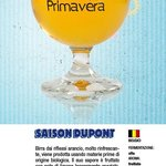 Saison Dupont Biologique  - Birra di Primavera 2013