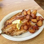delicious blackened trout