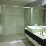 ensuite with two shower heads