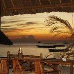 Sunset in Loca Restaurant