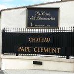 ES la fachada principal del Chateau, que se vé desde la carretera