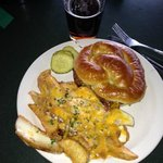 The Ruck with Dublin Pub Cheese Fries