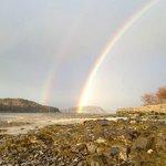 Rainbow from the Saltair Inn