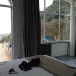 suite  con terrazzo e  jacuzzi vista mare