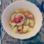 Muy rica ensalada de frutas