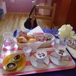 colazione in camera ottima ed abbondante!!!