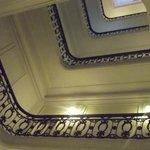 Balaustrada dos andares