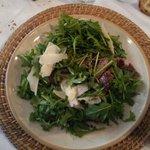 Tagliata di Bufalina ,rucola,parmigiano con aceto balsamico e olio al limone