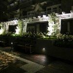 Evening shot of Terrace