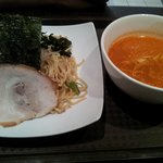 Cold Ramen with Spicy soup