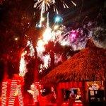 fireworks at Saltys!