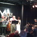 Louis Moholo octet at Vortex Club