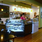 Bakery and coffee counter for take out orders