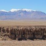 Vulcões sempre nas paisagens do Atacama