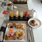 le fameux petit-déjeuner