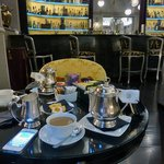 Afternoon tea in the bar