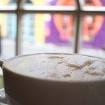 Latte by the Window