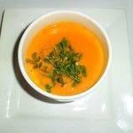 Carrot & orange soup