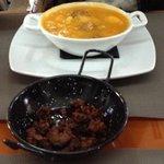 Patatas a la Riojana y picadillo