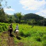 Joe & Miriam's land and horseback ride