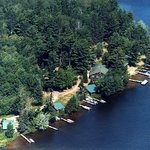 Charming log cabins just 6 - 20' from beautiful Lost Land Lake