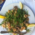 Calamari... yum!