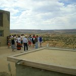 Guided tour on west side of Pueblo