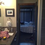 Bathroom to bedroom