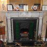 Lovely Adams fireplace.