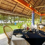 The panoramic ocean views from our open air restaurant